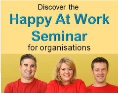 happy at work seminar