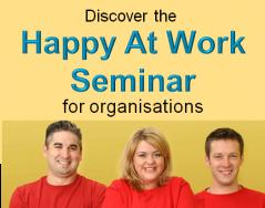 happy at work seminar